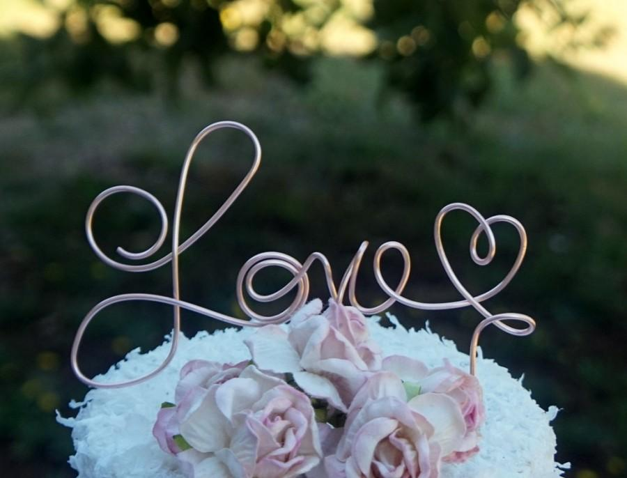 Mariage - Love Cake Topper, Bridal Shower & Engagement Party