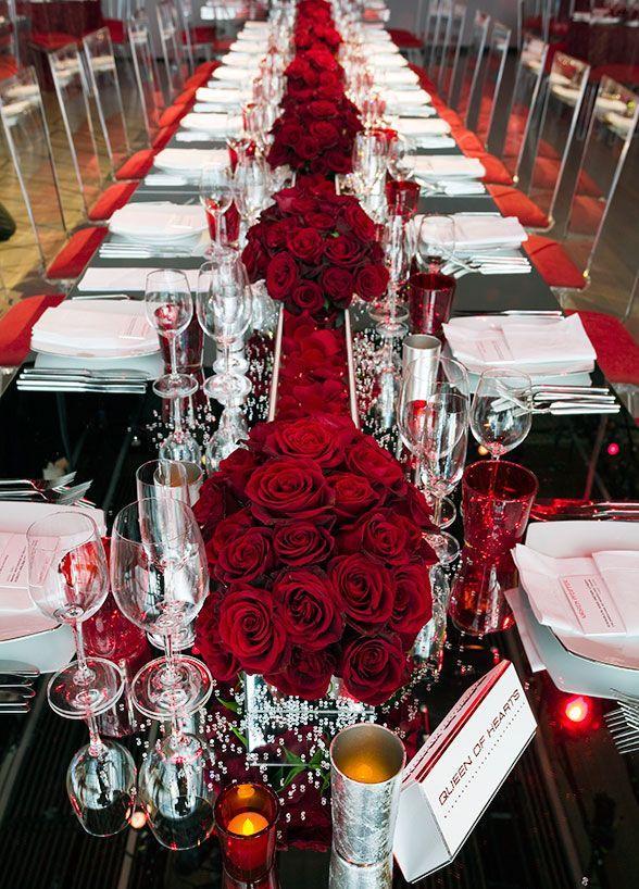 Wedding Theme Elegant Ruby Anniversary Celebration 2572532 Weddbook