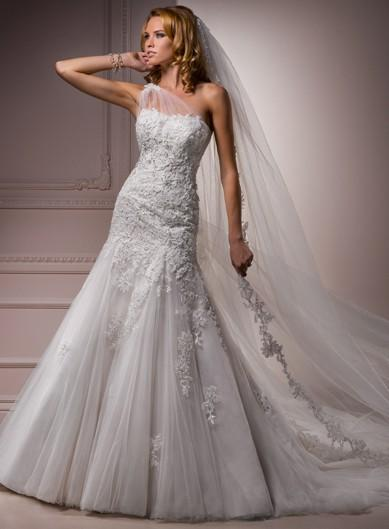 Wedding - Maggie Sottero Bernadine Maggie Sottero Wedding Dresses - Rosy Bridesmaid Dresses