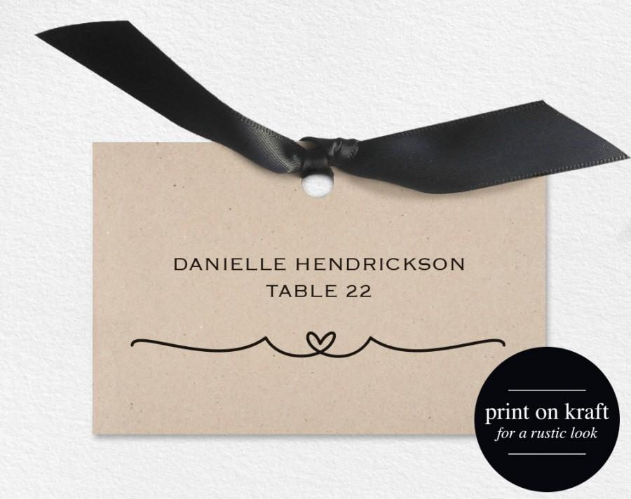Wedding Place Card 140 | Wedding Place Cards Place Card Printable Wedding Place Cards