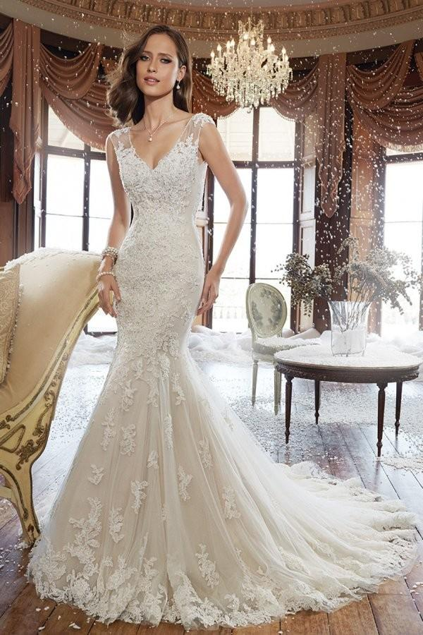 Sophia Tolli For Mon Cheri Style Y21507 Fantastic Wedding Dresses