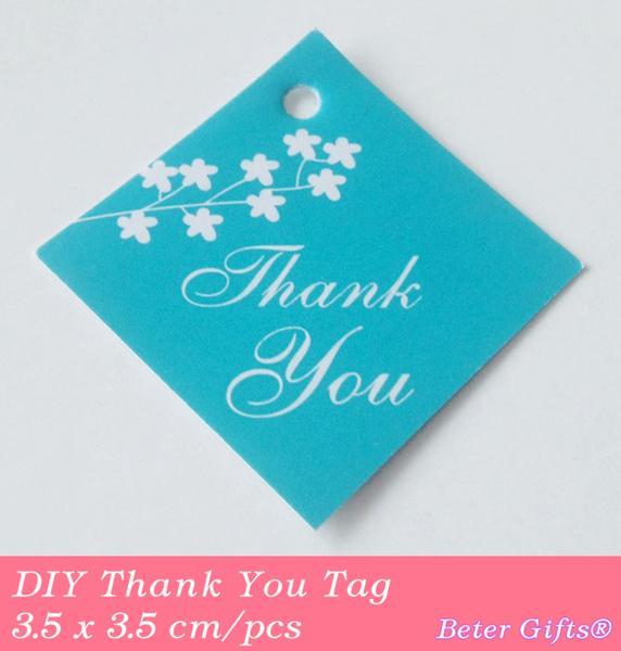 Mariage - DIY Thank you tags Packaging Bridal Accessory TAG AsianFavors.Taobao.com