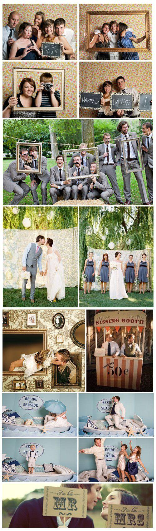 Свадьба - Wedding Photo Booth Ideas