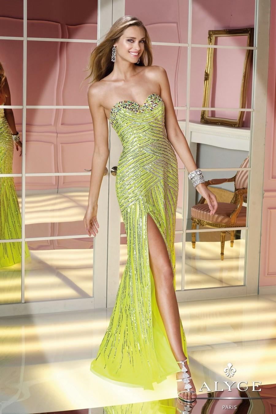Свадьба - Alyce Paris - Style 6204 - Junoesque Wedding Dresses