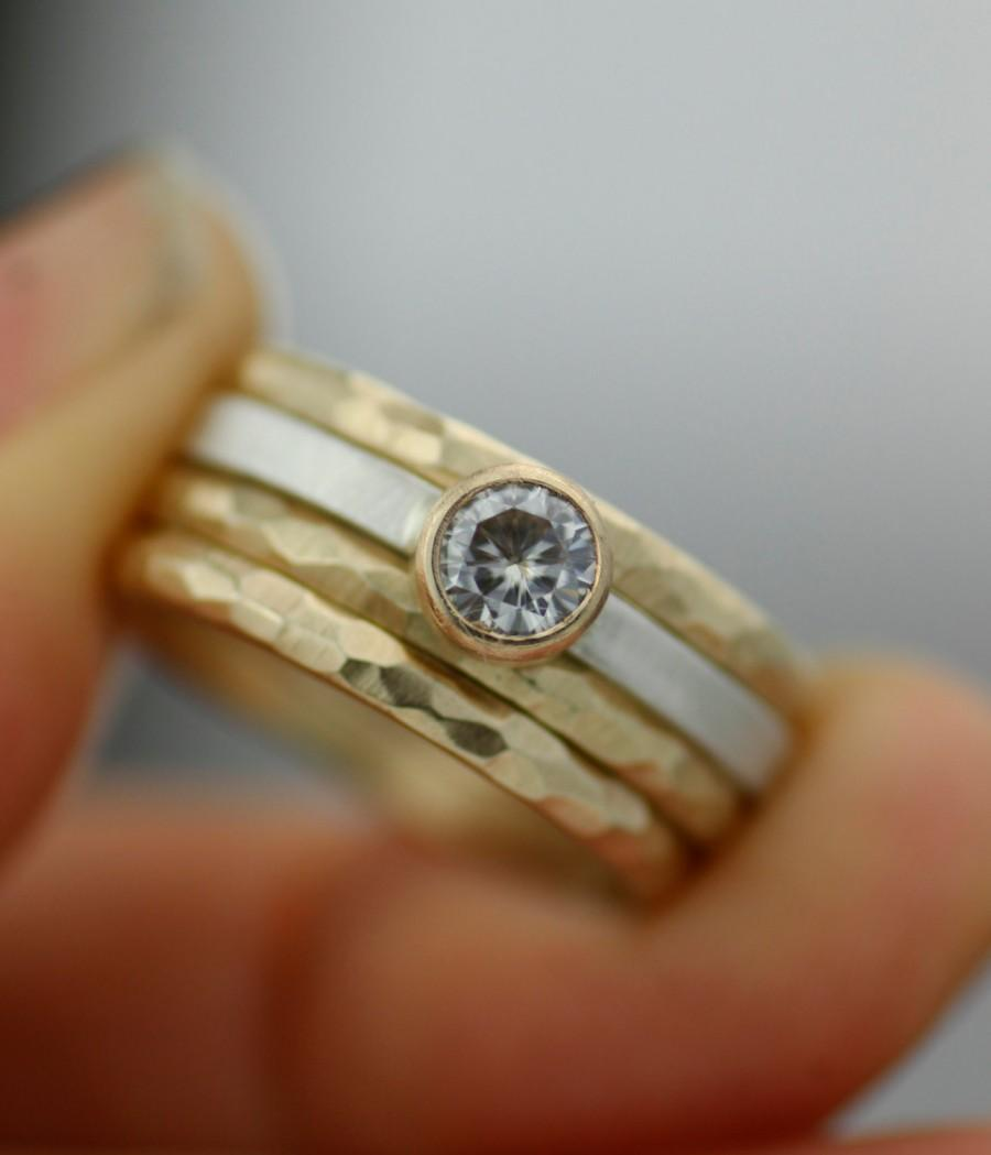 goldsmiths mccaul rings engagement modern wedding contemporary wave showcase