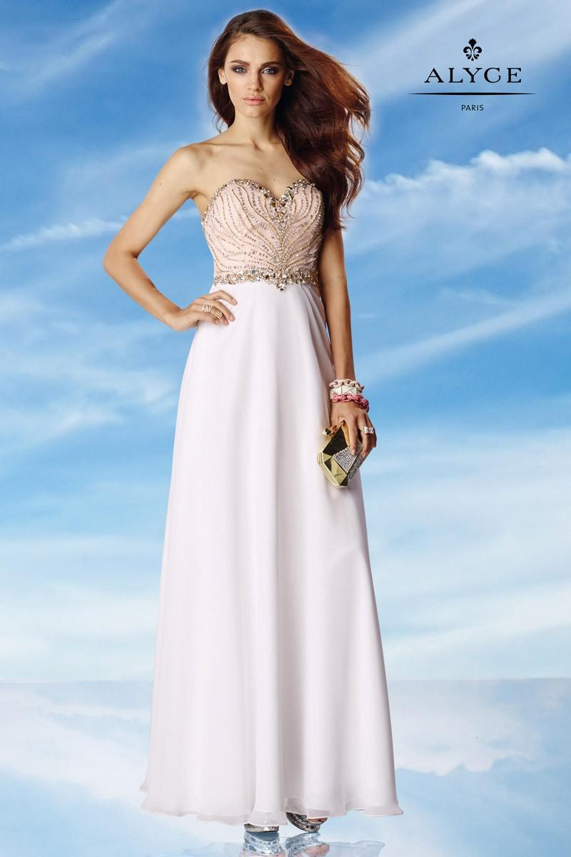 Mariage - Alyce Paris 6454 Beaded Special Occasion Dress - Brand Prom Dresses