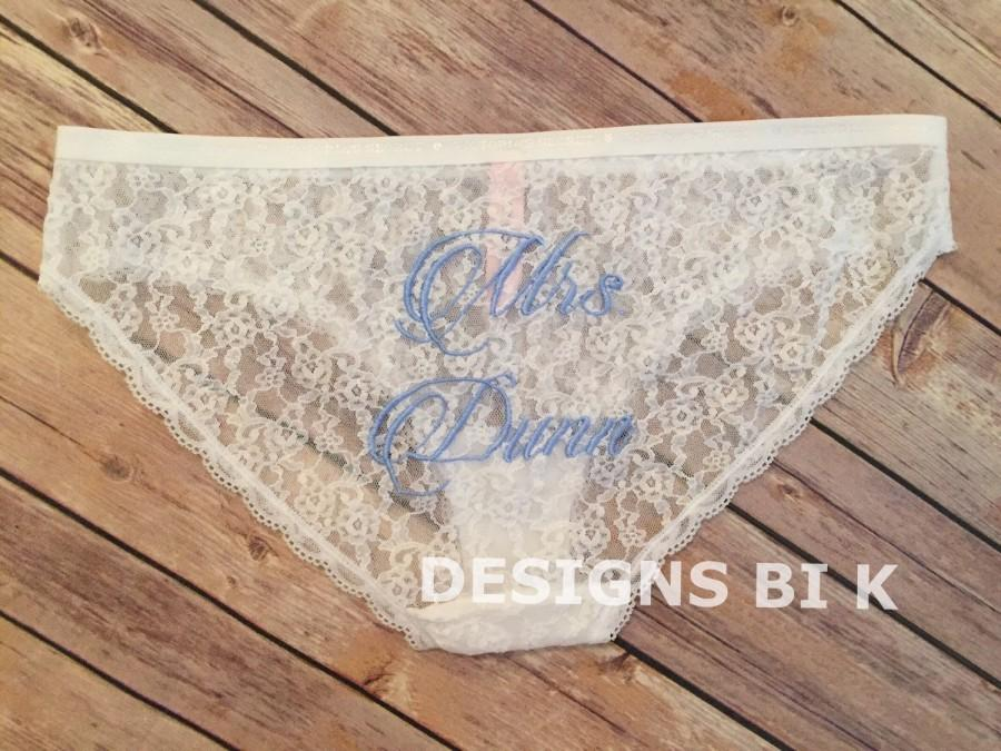 Hochzeit - Personalized panties, Wedding underwear, Bridal panties, Lace bikini underwear, Bridal lace panties, Wedding panties, Custom bridal panties