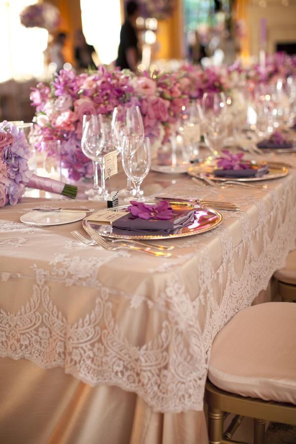 Hochzeit - Purple & Lavender Glam - Annie & Kenny