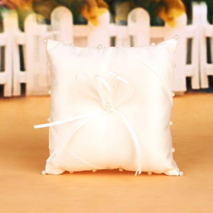 Hochzeit - Wedding Ring Holder Pillow Wedding Decoration