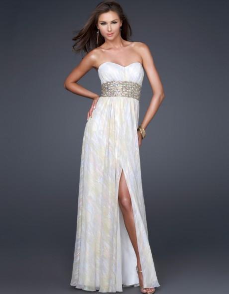 Wedding - La Femme 16372 Dress V1210-01 - Brand Prom Dresses