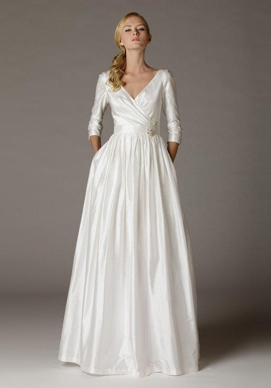 Aria carissa wedding dress the knot formal bridesmaid for Wedding dresses the knot