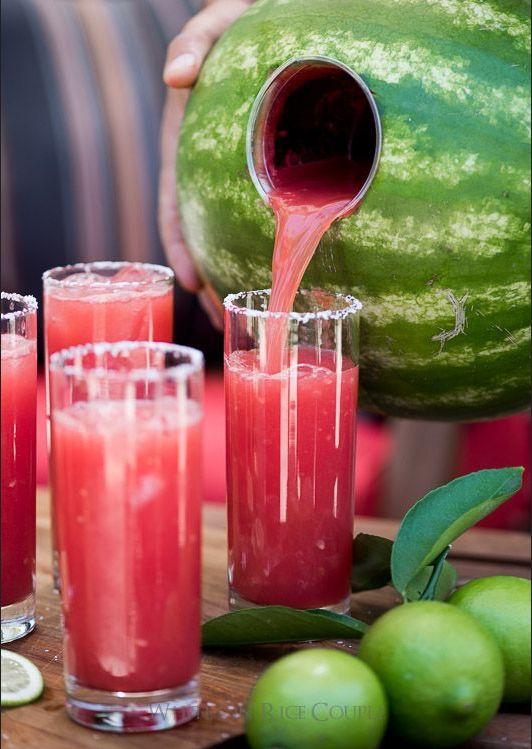 Hochzeit - 12 Watermelon Recipes Even Better Than Biting Into That First Juicy Slice