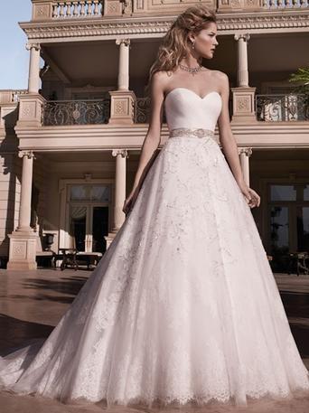 Wedding - Casablanca 2136 - Branded Bridal Gowns