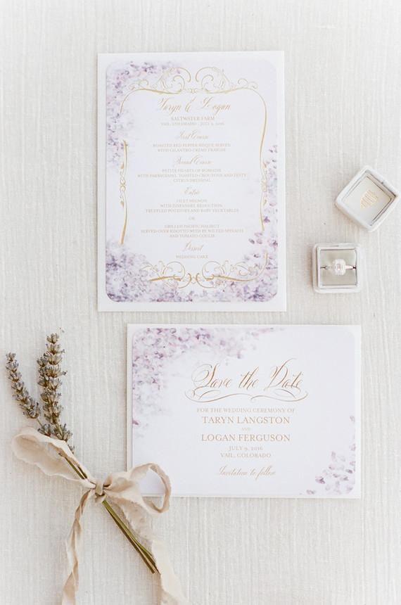 Hochzeit - Lavender Wedding Inspiration