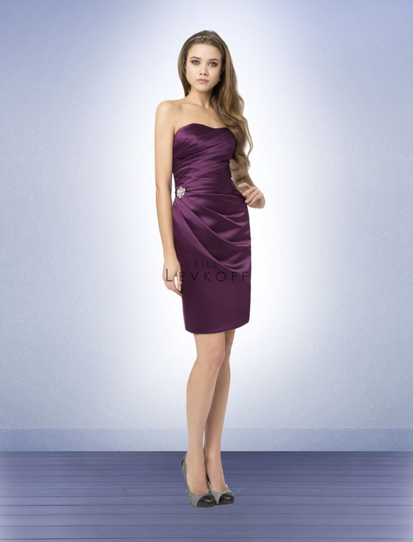 Wedding - Bill Levkoff Bridesmaid Dresses - Style 780 - Junoesque Wedding Dresses