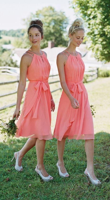 Wedding - Beautiful Bridesmaid Looks By Color