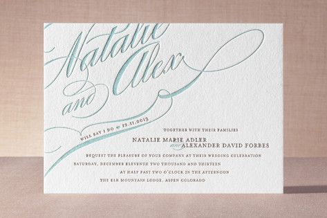 Wedding - Wedding Invitation Card
