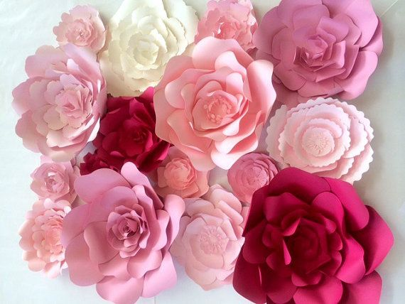Large paper flower wall large paper flower backdrop giant paper large paper flower wall large paper flower backdrop giant paper flowers paper flower backdrop photo shoot props paper flower decor mightylinksfo Images
