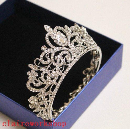 زفاف - Crystal Bridal Tiara