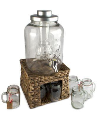 Wedding - Garden Terrace Beverage Stand & Dispenser Set