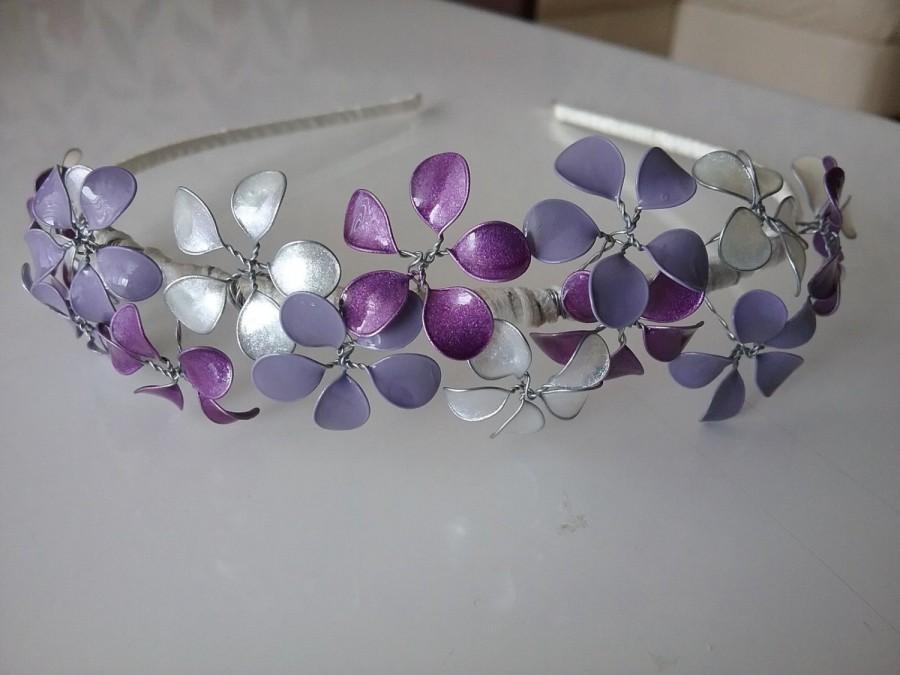 Wedding - Festive purple Hairband