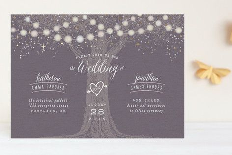 Mariage - Wedding Invitation Card