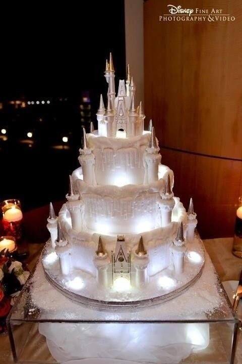 Fairy Tale Castle Wedding Cake Top