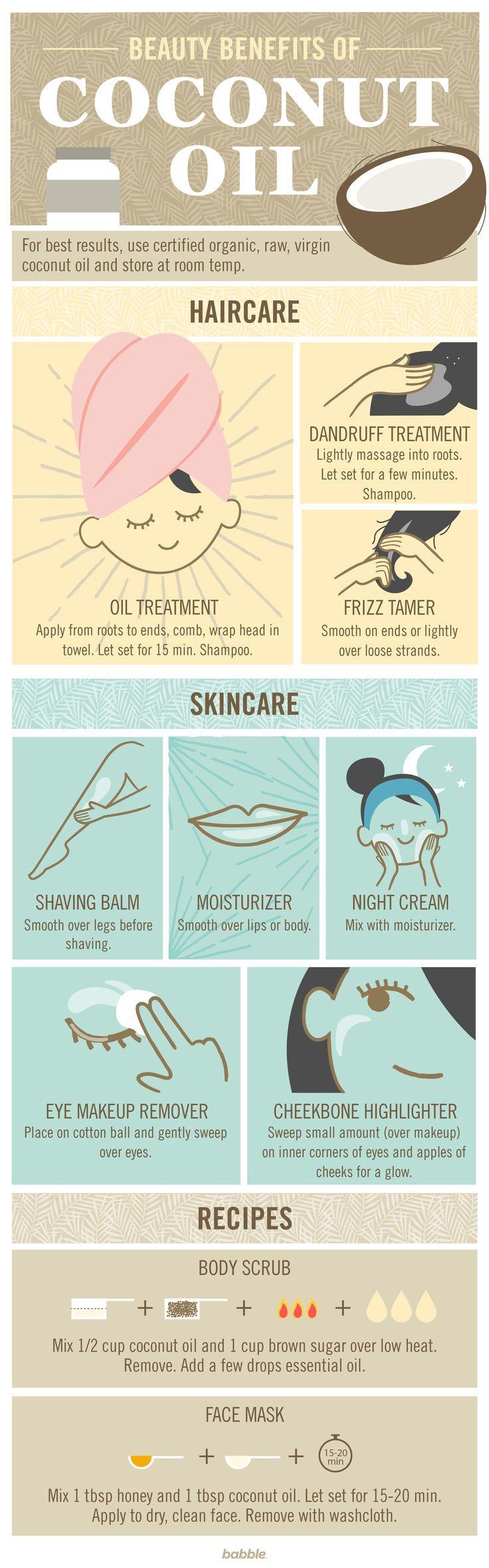 Wedding - 10 Beauty Benefits Of Coconut Oil