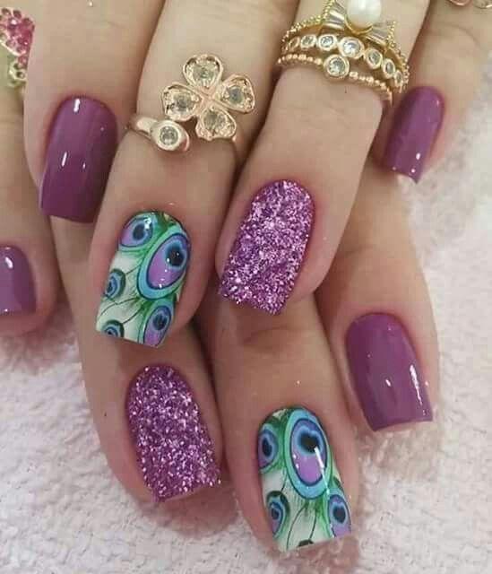 Nagel Glittering Nail Art 2573942 Weddbook