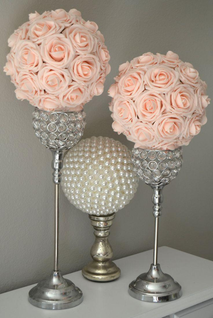 Mariage - Pink Blush Flower Ball