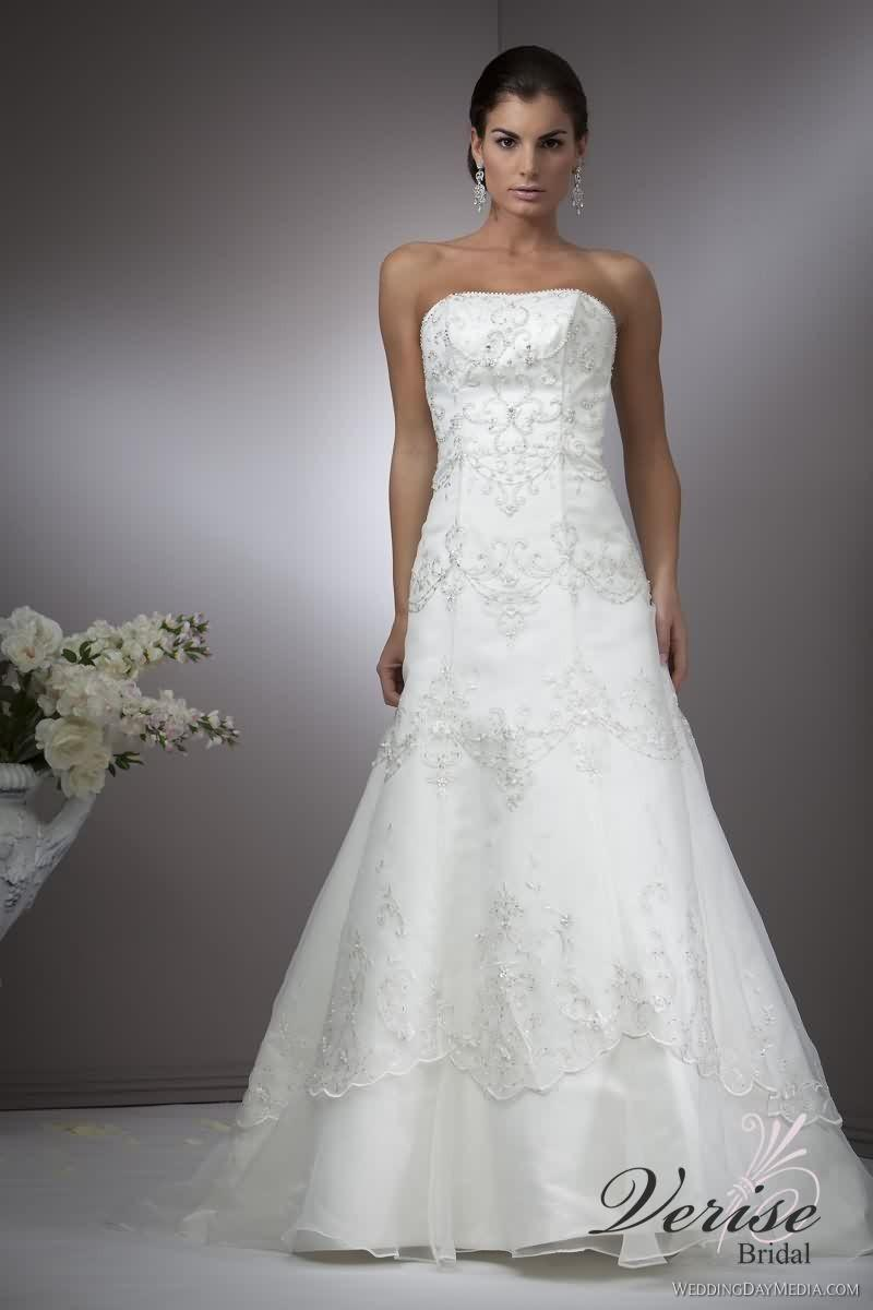 Wedding - Verise Mercedes Verise Wedding Dresses Verise Bridal Moonlight - Rosy Bridesmaid Dresses