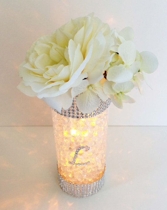 Mariage - Glowing Wedding Table Centerpiece