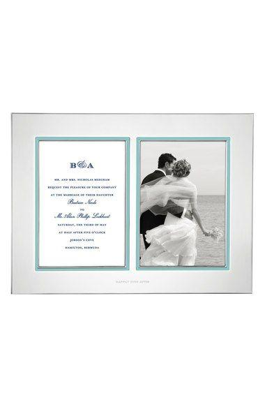 Wedding - 'Take The Cake' Double Invitation Bridal Picture Frame