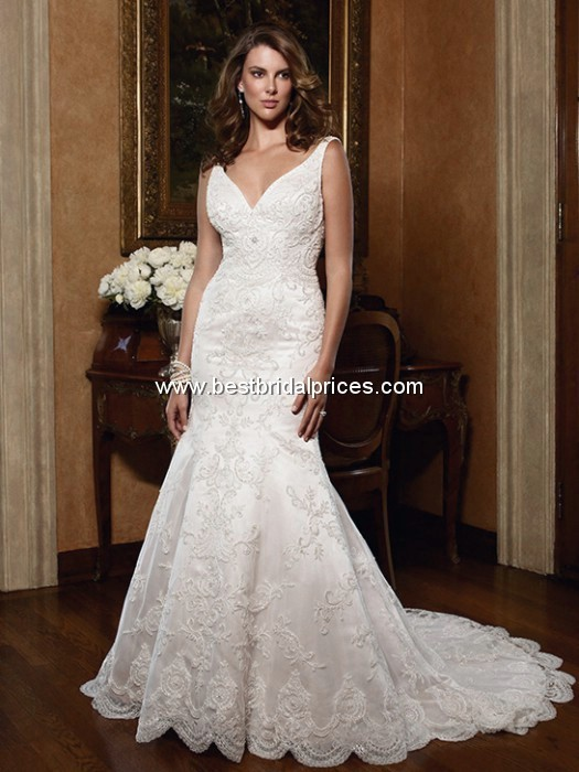 زفاف - Casablanca Wedding Dresses - Style 2030 - Formal Day Dresses