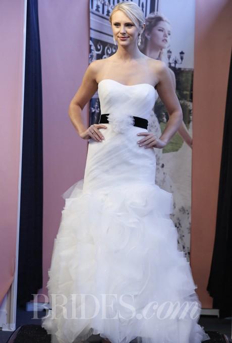 Ruffle Skirt Mermaid Wedding Dresses 2013