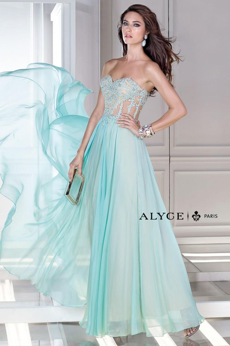 Wedding - B'Dazzle Prom Dress Style  35677 - Charming Wedding Party Dresses