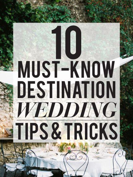 Wedding - Tips & Advice