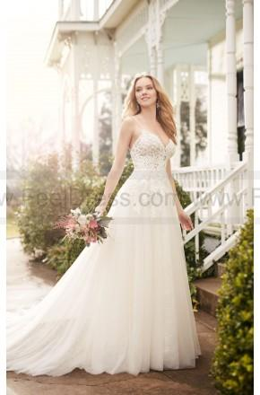 Wedding - Martina Liana A-Line Wedding Dress With Illusion Lace Bodice Style 822