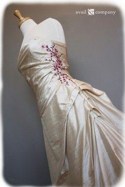 Wedding - Cherry Blossom Bridal Gown Wedding Dress - Cherry Blossom Style
