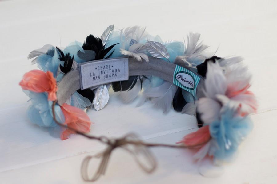 زفاف - Personalized custom label  - Headbands and Crowns