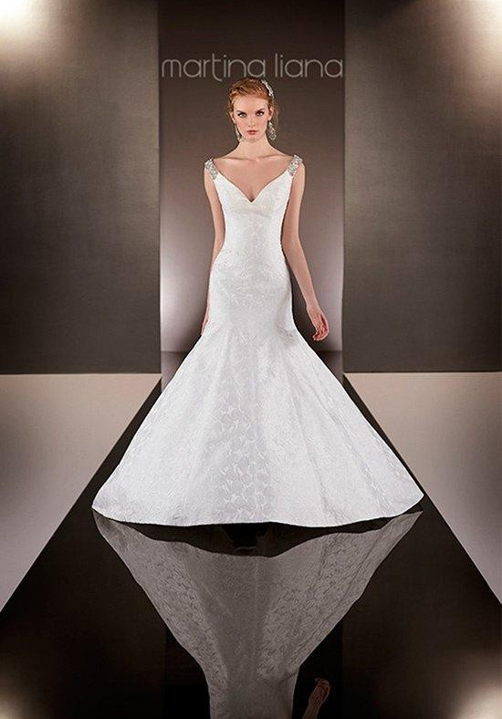 Hochzeit - Martina Liana 594 Wedding Dress - The Knot - Formal Bridesmaid Dresses 2016