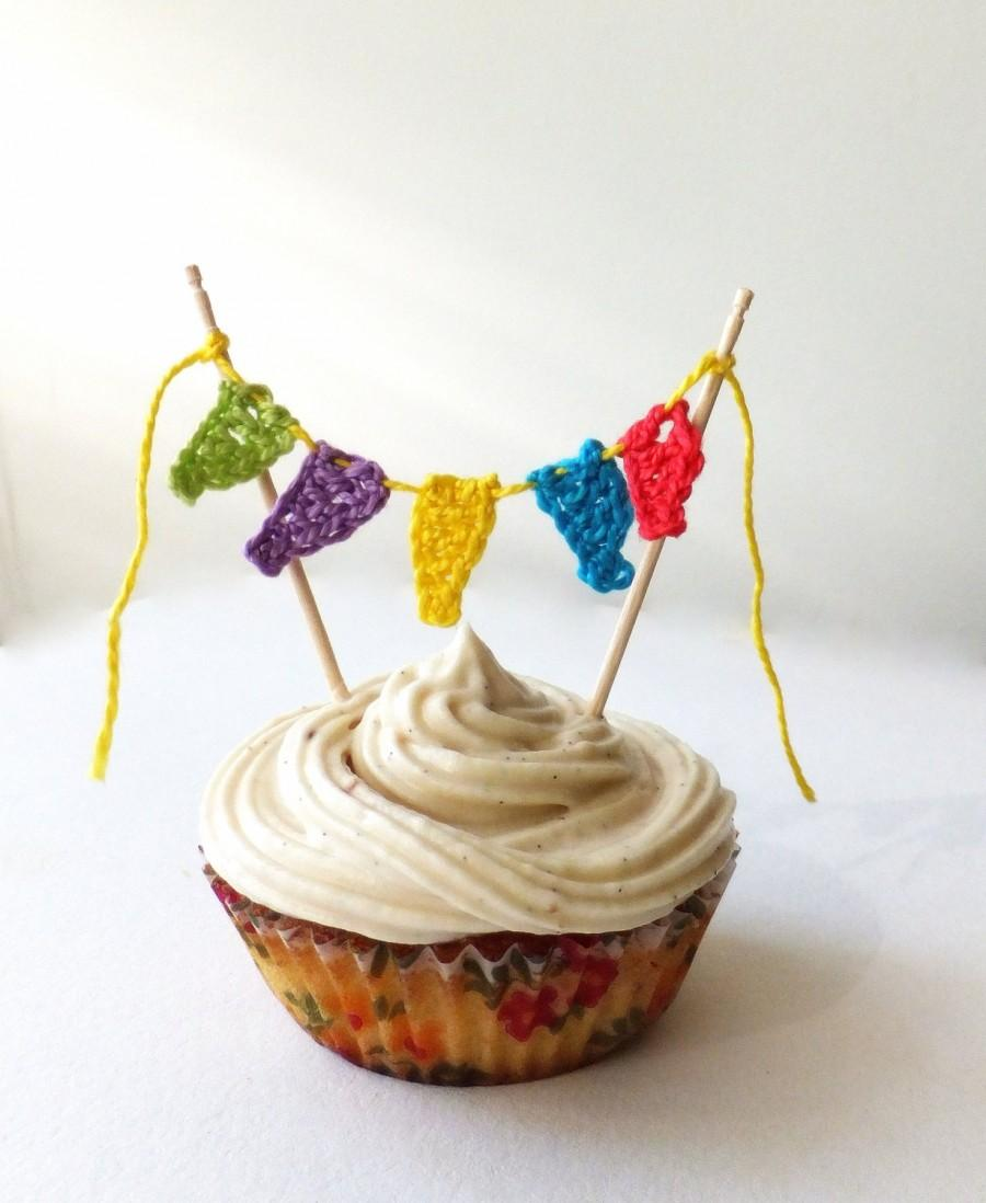Birthday Cake Topper Kids Party Cupcake Topper 1st Birthday