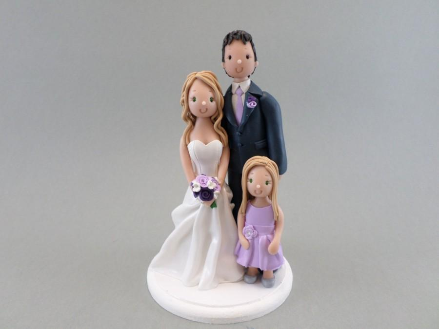 Свадьба - Customized Family Cake Topper