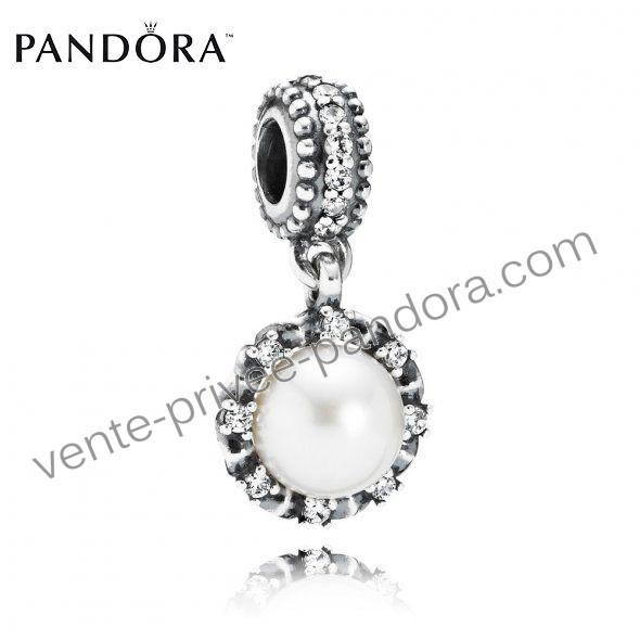 Свадьба - Pendentif Pandora Pas Cher Perle Mousseux p0315