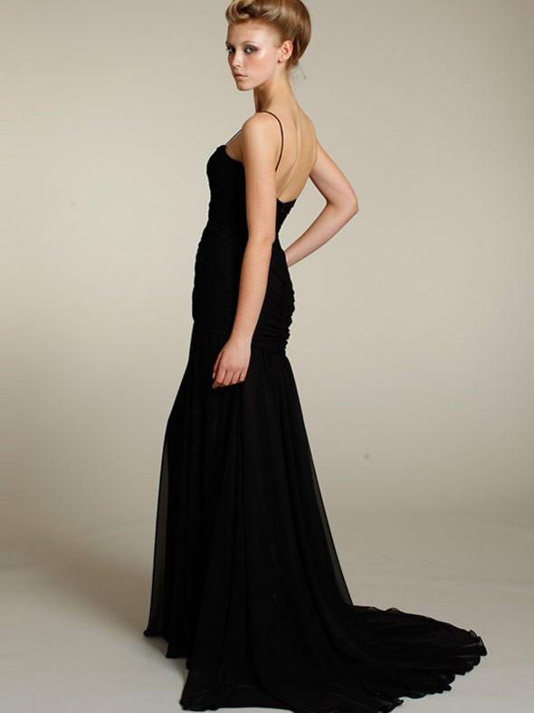 Elegante kurze schwarze kleider