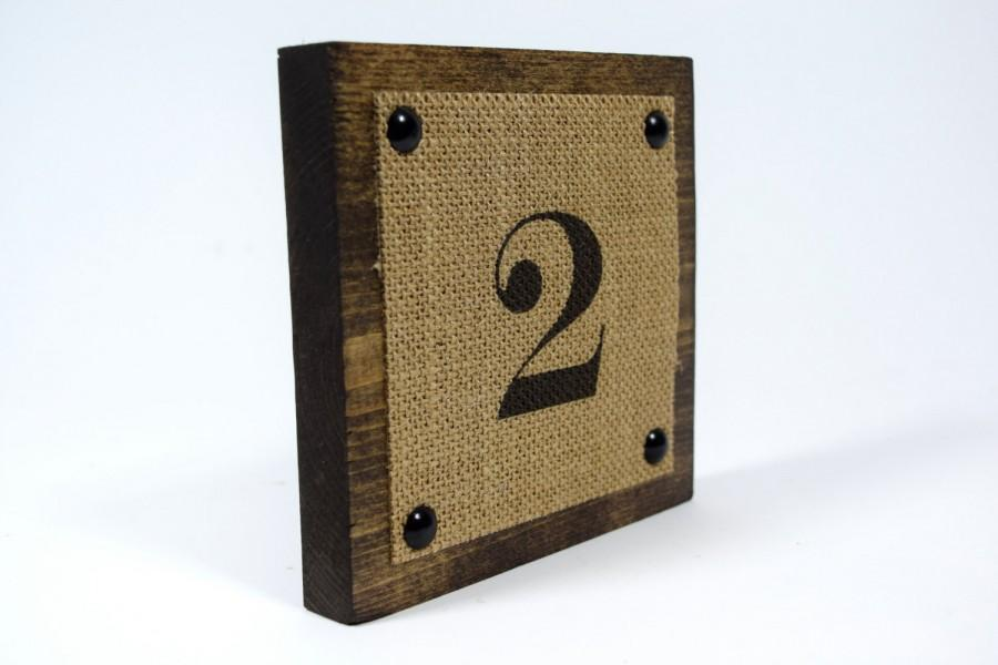 Mariage - Wedding Rustic Table Numbers - Reception Table Numbers - Wedding Center Pieces - Table Numbers For Wedding - Table Number Ideas - Numbers