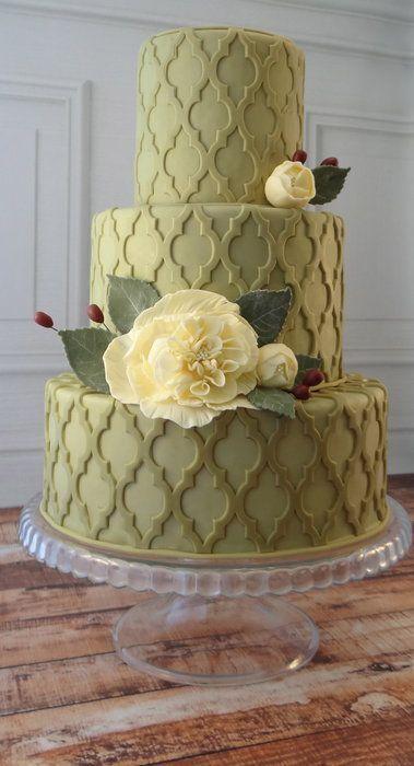 Свадьба - Quatrefoil - CakesDecor