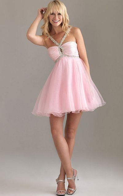 Wedding - Night Moves Crystal Keyhole Halter Prom Dress 6407 - Brand Prom Dresses