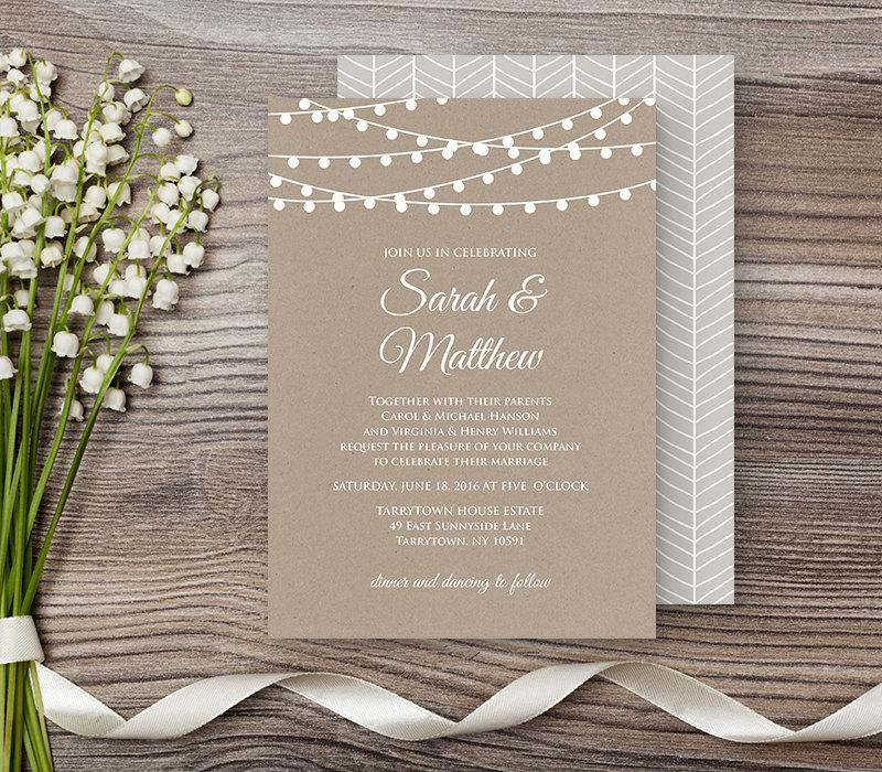 Editable Wedding Invitation Templates Pdf