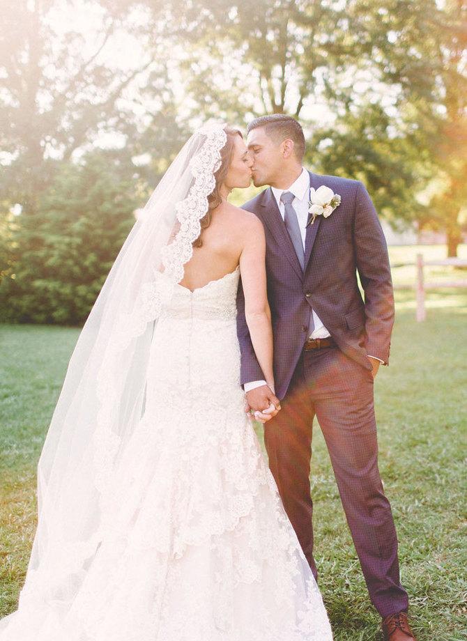 زفاف - Mantilla Lace Wedding Veil